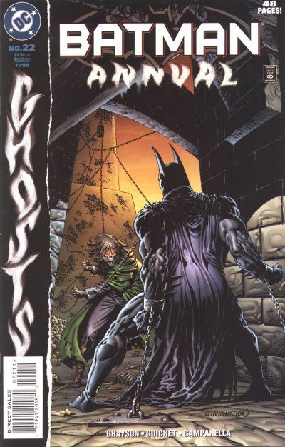 Cover for Batman Annual (DC, 1961 series) #22