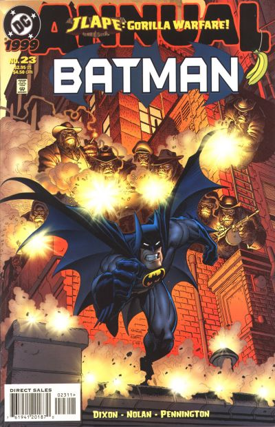 Cover for Batman Annual (DC, 1961 series) #23