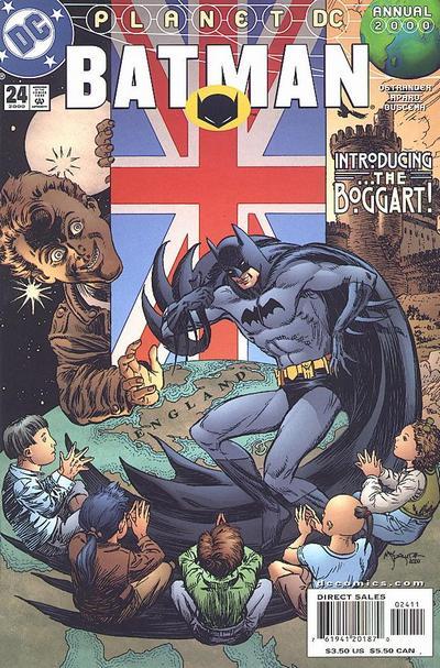 Cover for Batman Annual (DC, 1961 series) #24