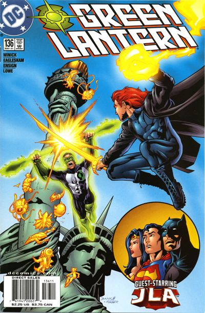 Cover for Green Lantern (DC, 1990 series) #136