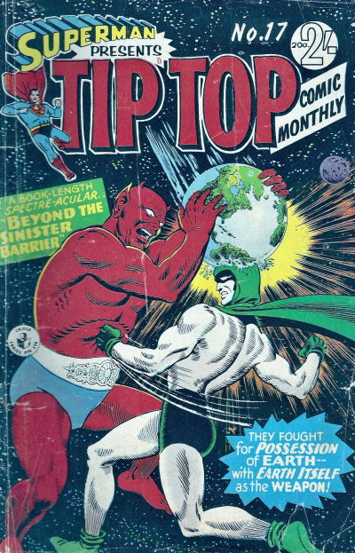 Cover for Superman Presents Tip Top Comic Monthly (K. G. Murray, 1965 series) #17