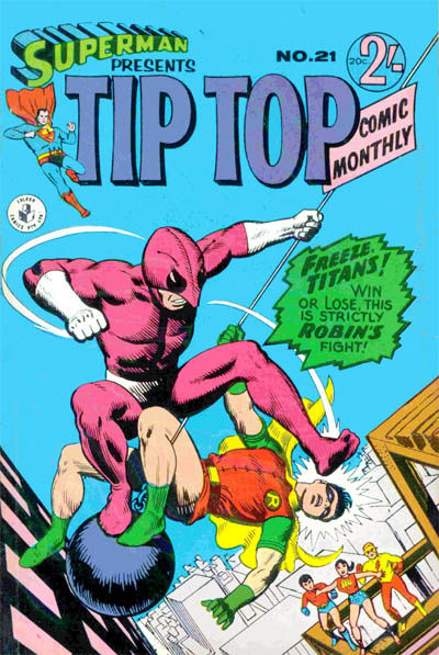 Cover for Superman Presents Tip Top Comic Monthly (K. G. Murray, 1965 series) #21
