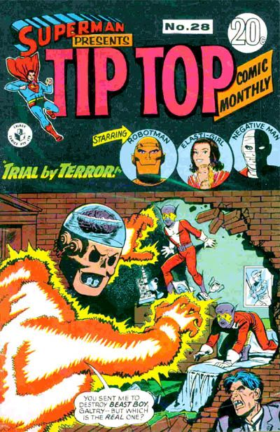 Cover for Superman Presents Tip Top Comic Monthly (K. G. Murray, 1965 series) #28