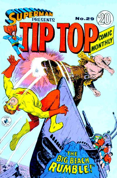 Cover for Superman Presents Tip Top Comic Monthly (K. G. Murray, 1965 series) #29