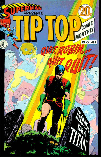 Cover for Superman Presents Tip Top Comic Monthly (K. G. Murray, 1965 series) #41