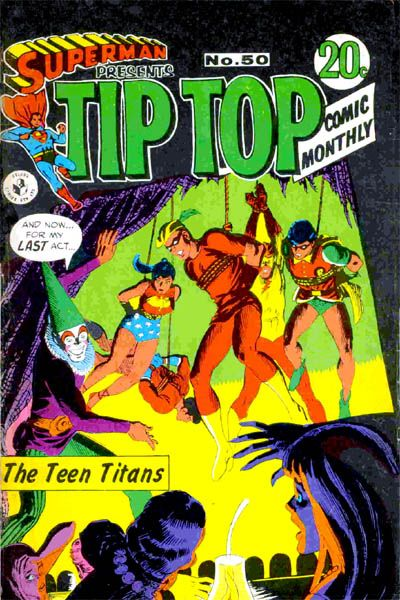 Cover for Superman Presents Tip Top Comic Monthly (K. G. Murray, 1965 series) #50