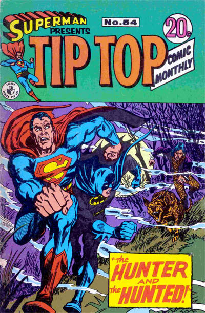 Cover for Superman Presents Tip Top Comic Monthly (K. G. Murray, 1965 series) #54