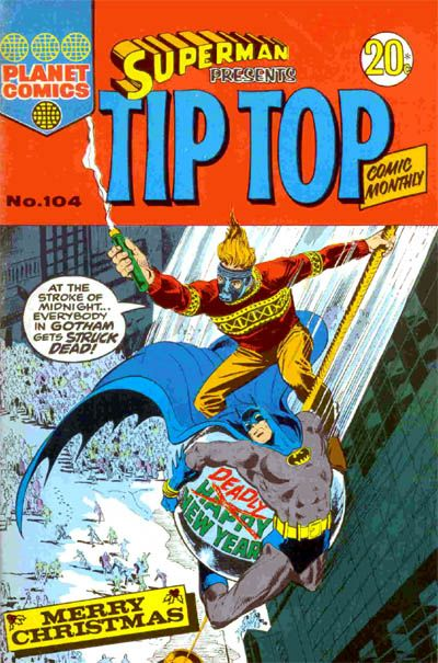 Cover for Superman Presents Tip Top Comic Monthly (K. G. Murray, 1965 series) #104