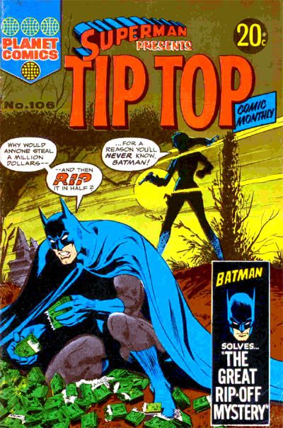 Cover for Superman Presents Tip Top Comic Monthly (K. G. Murray, 1965 series) #106