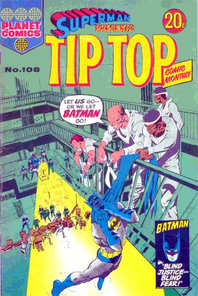 Cover for Superman Presents Tip Top Comic Monthly (K. G. Murray, 1965 series) #108
