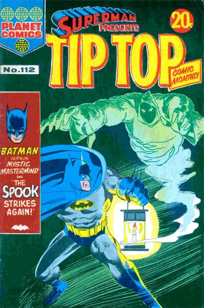 Cover for Superman Presents Tip Top Comic Monthly (K. G. Murray, 1965 series) #112