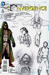 Cover for Convergence (DC, 2015 series) #4 [Billy Tan Design Sketch Cover]