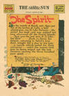 Cover Thumbnail for The Spirit (1940 series) #3/22/1942 [Baltimore Sun edition]