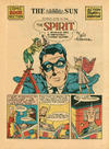 Cover Thumbnail for The Spirit (1940 series) #6/14/1942 [Baltimore Sun edition]