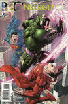 Cover for Convergence (DC, 2015 series) #2 [Tony S. Daniel / Mark Morales Cover]