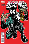 Cover for Deadpool's Secret Secret Wars (Marvel, 2015 series) #1 [Nicholas Gazin Album Artist Deadpool Variant]