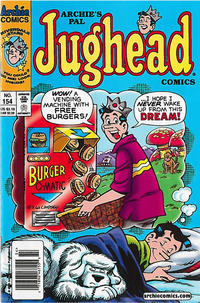Cover Thumbnail for Archie's Pal Jughead Comics (Archie, 1993 series) #154 [Newsstand]