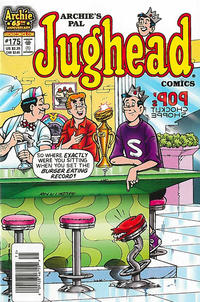 Cover Thumbnail for Archie's Pal Jughead Comics (Archie, 1993 series) #175 [Newsstand]