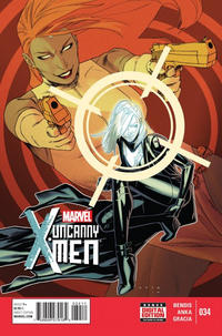 Cover for Uncanny X-Men (Marvel, 2013 series) #34