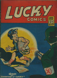 Cover Thumbnail for Lucky Comics (Maple Leaf Publishing, 1941 series) #v2#4