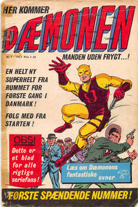 Cover Thumbnail for Dæmonen (Interpresse, 1967 series) #1