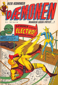 Cover Thumbnail for Dæmonen (Interpresse, 1967 series) #2