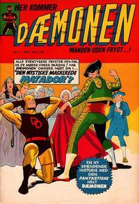 Cover Thumbnail for Dæmonen (Interpresse, 1967 series) #7