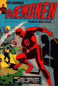Cover Thumbnail for Dæmonen (Interpresse, 1967 series) #12