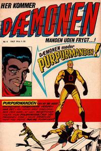 Cover Thumbnail for Dæmonen (Interpresse, 1967 series) #4