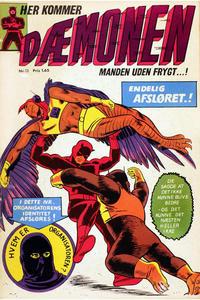 Cover Thumbnail for Dæmonen (Interpresse, 1967 series) #13