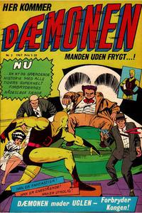 Cover Thumbnail for Dæmonen (Interpresse, 1967 series) #3