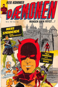 Cover for Dæmonen (Interpresse, 1967 series) #10