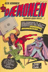 Cover Thumbnail for Dæmonen (Interpresse, 1967 series) #11