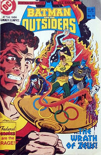 Cover Thumbnail for Batman and the Outsiders (Federal, 1984 series) #16