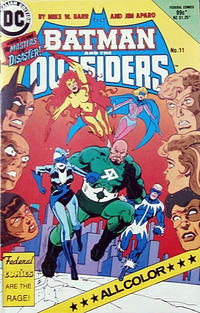 Cover Thumbnail for Batman and the Outsiders (Federal, 1984 series) #11