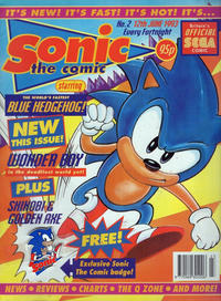 Cover Thumbnail for Sonic the Comic (Fleetway Publications, 1993 series) #2