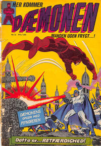 Cover Thumbnail for Dæmonen (Interpresse, 1967 series) #16