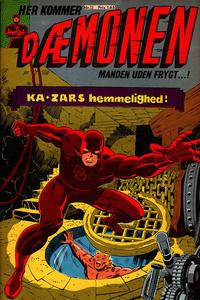 Cover Thumbnail for Dæmonen (Interpresse, 1967 series) #15