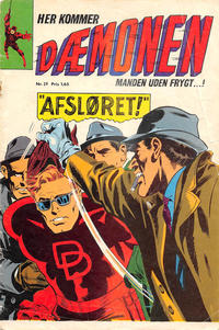 Cover Thumbnail for Dæmonen (Interpresse, 1967 series) #29