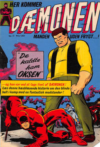 Cover Thumbnail for Dæmonen (Interpresse, 1967 series) #17