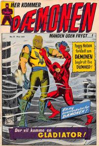 Cover Thumbnail for Dæmonen (Interpresse, 1967 series) #18
