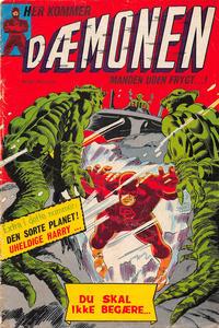 Cover Thumbnail for Dæmonen (Interpresse, 1967 series) #28