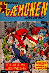 Cover Thumbnail for Dæmonen (Interpresse, 1967 series) #19