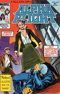 Cover Thumbnail for Alpha Flight (Federal, 1984 ? series) #[nn]