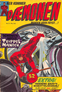 Cover Thumbnail for Dæmonen (Interpresse, 1967 series) #22