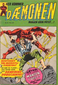 Cover Thumbnail for Dæmonen (Interpresse, 1967 series) #24