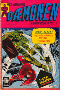 Cover Thumbnail for Dæmonen (Interpresse, 1967 series) #25