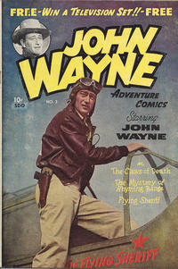 Cover Thumbnail for John Wayne Adventure Comics (Superior Publishers Limited, 1949 ? series) #3