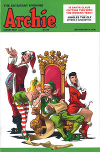 Cover Thumbnail for Archie (Archie, 1959 series) #661 [The Saturday Evening Archie]