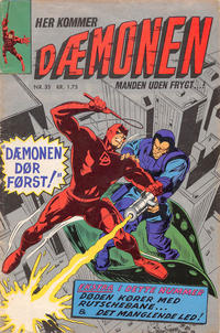 Cover Thumbnail for Dæmonen (Interpresse, 1967 series) #35